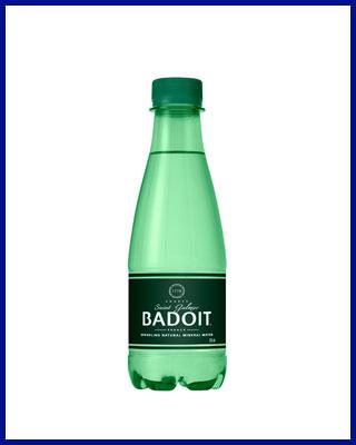 Agua Badoit con gas 33cl PET