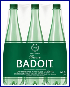 Agua Badoit con gas 1L PET