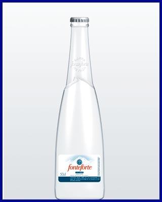 Agua Fonterforte, agua con gas distribuida por Dibegil en Sevilla