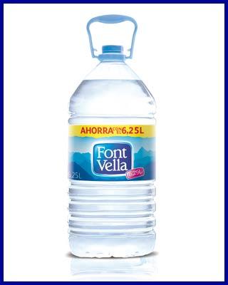 Agua Font Vella en Dibegil Hermanos