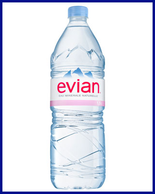 Agua Evian mineral sin gas 1.5L pet
